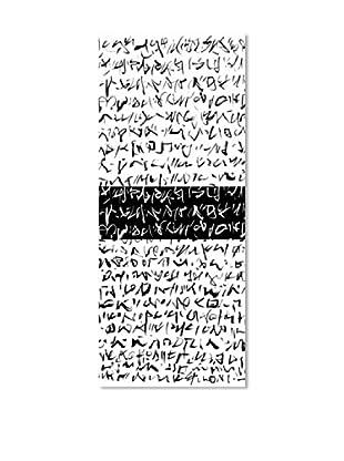 PlatinArt Panel Decorativo Hieroglyphic 100 x 240
