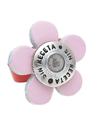 Sin Receta Anillo Flor Combinación Rosa