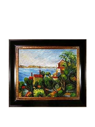 Paul Cézanne La Mer a l'Estaque