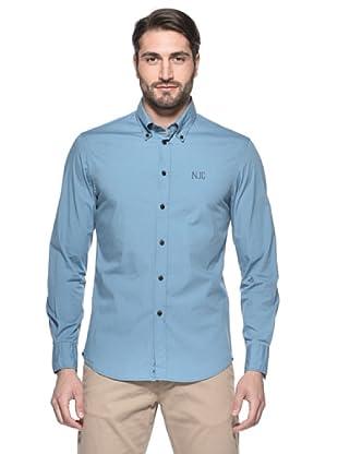 Nautica Camisa Hombre (Azul Cielo)