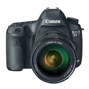 Canon EOS 5D Mark 3 22.3MP Digital SLR Camera with 24-105mm Lens (Black)