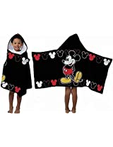 Disney Mickey Mouse Hooded Towel By Disney
