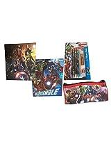 The Avengers Age of Ultron Folders Pencil Case Bundle