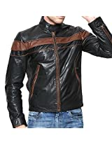 NEW STYLISH 100%LEATHER BIKER JACKET