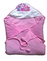 Hooded Cherry Wrapper - Pink