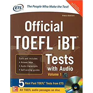 Official TOEFL IBT Tests with Audio (Old Edition)