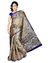 Somya Silk Saree(128Dno006_Blue)