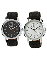Evelyn Combo of Analogue Multi-Colour Dial Men's Watch - BW-05