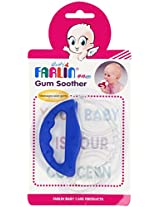 Farlin Gum Soother with Handle, Multi Colour