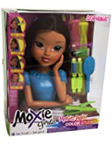 Moxie Girlz Magic Hair Color Studio Torso Fashion Doll Accessories, Sophina