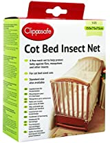 Cot Bed Insect Net, Multi Colour, 0-2 Years (Size: 150cm x 75cm x 75cm)