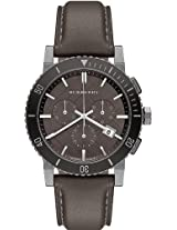 Burberry Leather Chronograph Mens Watch Bu9384