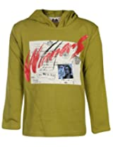 Babyhug Full Sleeves Hooded T Shirt - Winners Print