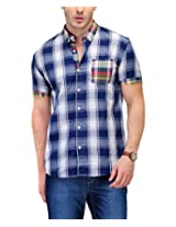 Yepme Men's Checks Multi-Coloured Cotton Shirt- YPMSHRT0535_42