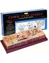 3-D Comic Cube Puzzle Featuring Frank and Ernest Comic Strip