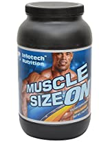 Infotech Nutritions Muscle Sizeon Powder- 1 KG, Chocolate/Vanilla