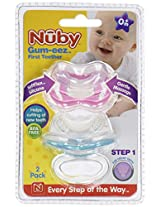 Nuby 2 Count Gum-Eez Teether