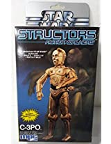 1984 Star Wars Structors Action Walkers wind up C-3PO Model Kit