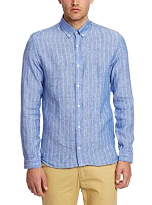 Selected Camisa Lachlan (Azul)