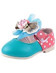 Doink Kids Girls My First Bally Shoes - Green