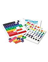 Learning Resources Products Learning Resources Rainbow Fraction Tiles W/Plastic Tray, Math Manipulatives, For Grades 2 6 Sold As 1 Set Set Of 51 Color Coded, Proportional Tiles. Represents Wholes, Halves, Thirds, Fourths, Fifths, Sixths, Eighths, Tenths And Twelfths. Includes Teachers Guide.
