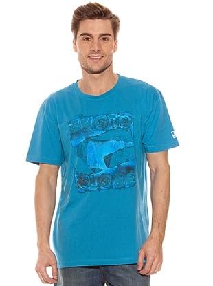 Globe Camiseta Saturated (Turquesa)