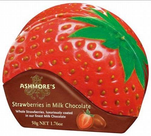 ASHMORE'S(アッシュモアーズ) ギフトBOX ストロベリー&ミルクチョコレート 50g