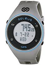 Soleus Soleus Unisex Sg011-077 Gps One Digital Display Quartz Grey Watch - Sg011-077