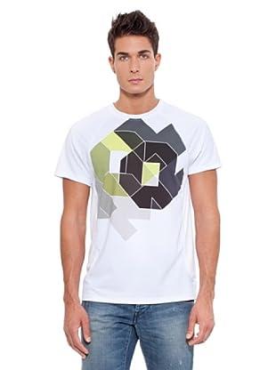 Kelme Camiseta Manga Corta Formas (Blanco)