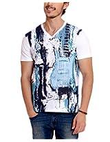 Elaborado Men's T-Shirt, White, XXLarge, EAIS5030WH5