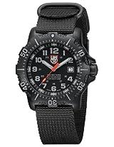 Luminox Sea Anu 4200 Black Dial Black Nylon Mens Watch 4221.CW