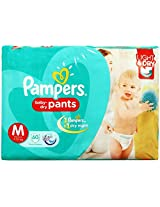 Pampers Pant Diapers Light And Dry Medium 60 Pieces (7 to 12 kg)