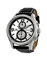Invicta Signature II Silver Dial Elegant Chronograph Mens Watch 7414