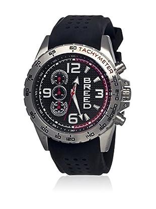 Breed Reloj con movimiento cuarzo japonés Brd4402 Negro 45  mm