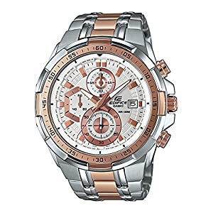 Casio Edifice EFR-539SG-7A5V (EX222)Chronograph Black Dial Men's Watch