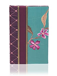 Molly West Turquoise Lily- Note Pad, Purple/Turquoise