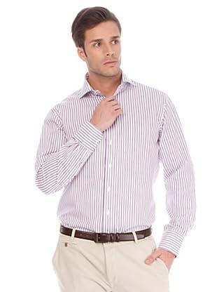Arrow Camisa Devon (Malva / Blanco)