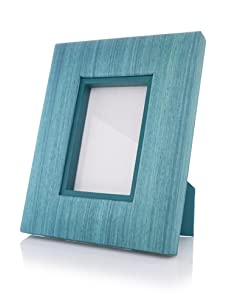 "Terragrafics Riviera 4"" x 6"" Picture Frame (Blue)"