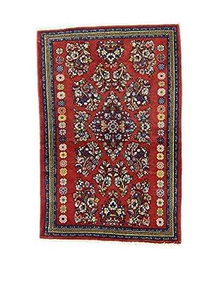 L'Eden del Tappeto Teppich Sarogh rot/mehrfarbig 118t x t77 cm