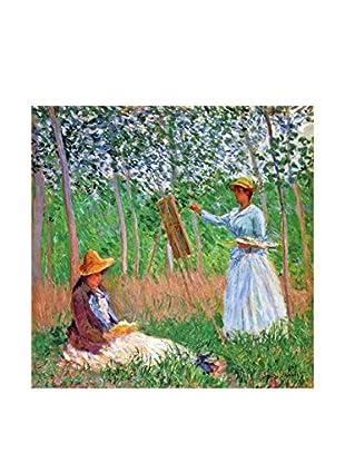 LegendArte  Wandbild Im Wald von Giverny von Claude Monet