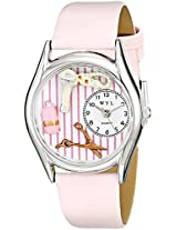 Whimsical Watches Women's S0630007 Beautician Female Pink Leather Watch