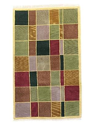 F.J. Kashanian One-of-a-Kind Hand-Knotted Mosa Rug, Multi, 3' 4
