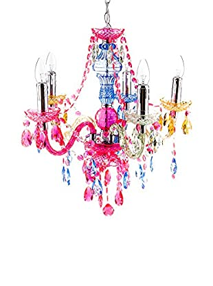 Contemporary Lighting Lámpara De Araña Jewel Multicolor