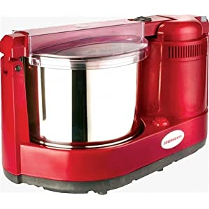 Sowbaghya Swathi Table Top Wet Grinder-Red