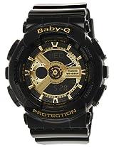 Casio Baby-G Analog-Digital Black Dial Women's Watch - BA-110-1ADR (BX015)