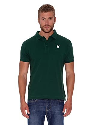 Polo Club Polo Custom Fit Escudo Liso (Verde Botella)