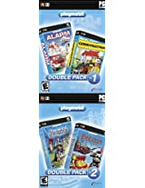 Playmobil! Alarm + Construction & Knights + Pirates (4-Pack) (PC)