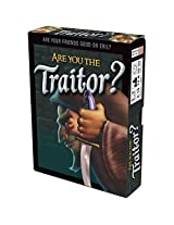 Are You the Traitor? Card Game - Includes Bonus Pop Toob!