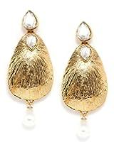 Bindhani Fancy Party Wear Tear Drop Earrings For Women