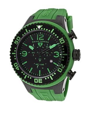 Swiss Legend Reloj Neptune Chrono verde